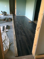 Updating flooring, doors and trim